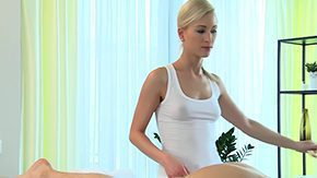 Massage Room, Barely Legal, Blonde, High Definition, Massage, Masseuse