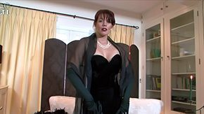 HD Holly Kiss tube Lady all clothed in dark Holly Kiss Sophisticated woman is underware mood As that damsel slides off her constricted fitting velvet evening suit presents herself