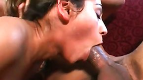 Milf Throat, 3some, Blowjob, Brunette, Cum in Mouth, Deepthroat