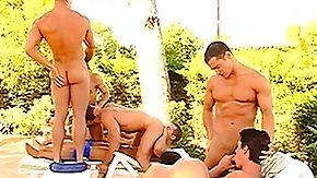 It's a gay play day on the water with a group of hunks in love with weenie