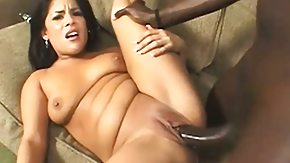 Big Balls, Big Black Cock, Big Cock, Blowjob, Brunette, Coed