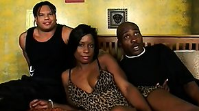 Ebony Anal High Definition sex Movies Ebony ho with a tight anal hole gets sandwiched by a pair of homies