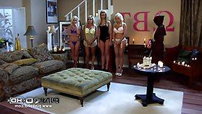 Lesbo, Big Tits, Blonde, College, Lesbian