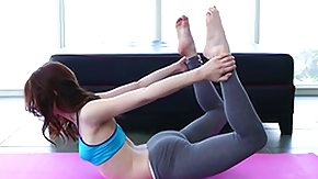 Jenna Ross, Babe, Ballerina, Brunette, Cute, Flexible