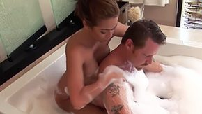 Mustache, American, Ass, Babe, Bath, Bathing