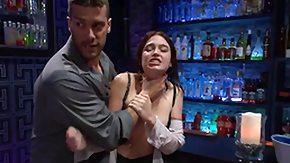 Bar, Angry, Bar, Bitch, Blowjob, Brunette
