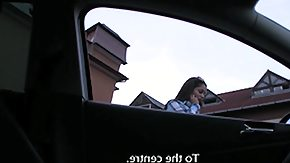 Fuck My Hair, Amateur, Brunette, Car, Cash, Cumshot