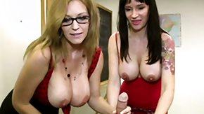 CFNM, 3some, Big Cock, Big Tits, Blonde, Boobs