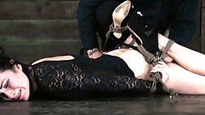 Hogtied, BDSM, Brunette, Fetish, Glamour, High Definition