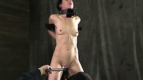 Tied Up, BDSM, Bound, Brunette, Fetish, Hardcore