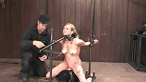 Sybian, BDSM, Bound, Crying, Machine, Mature