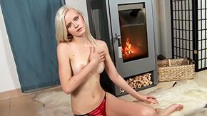 Samantha Heat HD porn tube Samantha Heat with tiny breasts hairless bush makes no secret of her interstice boobs