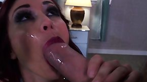Cum Drinking, Big Cock, Blowjob, Brunette, Cum, Cum Drinking