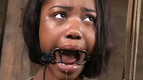 BDSM, Basement, BDSM, Bondage, Brunette, Ebony