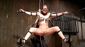 Bondage, BDSM, Blindfolded, Brutal, MILF, Pain