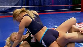 Nikki Love, Banging, Blonde, Cunt, Fight, Gangbang