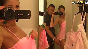 Dressing Room, Amateur, Babe, Blowjob, Brunette, Changing Room
