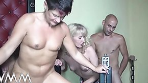 German Swingers, Amateur, Blowjob, Club, Couple, Cumshot