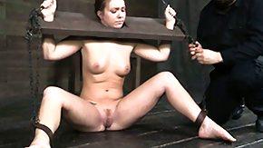 Hogtied, Babe, BDSM, Brunette, Fetish, Hardcore