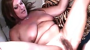 Mature, Big Cock, Big Tits, Blowjob, Boobs, Brunette