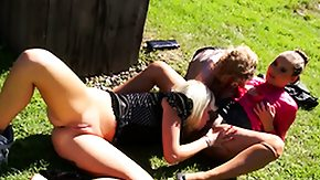 Lesbian Piss, 3some, Blonde, Brunette, Group, High Definition