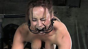 Gagging, Ass, BDSM, Big Ass, Big Tits, Boobs