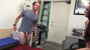 Garage, Big Tits, Blowjob, Hardcore, MILF