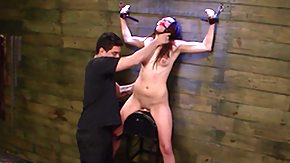 Sybian, Babe, BDSM, Blowjob, Brunette, Choking