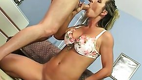 Mom, Big Tits, Blonde, Blowjob, Boobs, Doggystyle