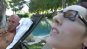 Tgirl, Blowjob, Glasses, Handjob, Ladyboy, Outdoor