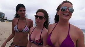 Beach, 3some, 4some, Ass, Beach, Big Ass