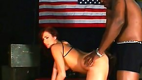 HD Lex Steele Sex Tube Lex Steele has a libidinous lean redhead madly riding his huge black cock