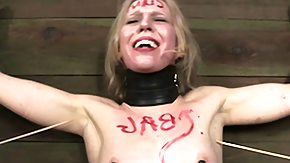 Sarah, BDSM, Blonde, Bondage, Boobs, Bound