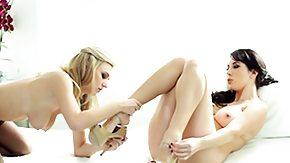 Jelena Jensen, Babe, Blonde, Brunette, High Definition, Leggings