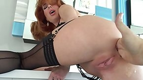 HD Pussy Juice tube redhead milf has to taste her own pussy juice @ rocco's intimate initiations