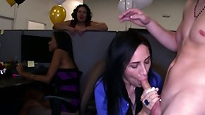 Cfnm, Babe, Big Cock, Blowjob, Brunette, CFNM
