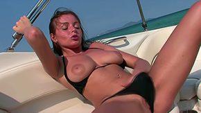 Yacht, Angry, Beach, Big Natural Tits, Big Nipples, Big Tits