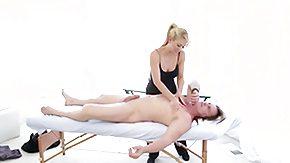 Massage, Babe, Blonde, Massage, Masseuse
