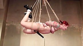 Helpless, Babe, BDSM, Bound, Hogtied, Punishment