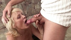 Mom and Boy, 18 19 Teens, Barely Legal, Blonde, Blowjob, Experienced
