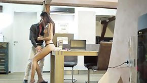 Long Legged HD tube Tall european secretary banging her boss