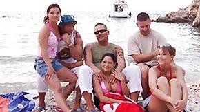 Beach, Amateur, Babe, Beach, Beach Sex, Blowjob