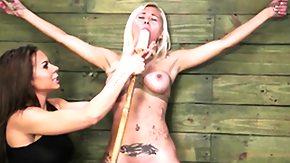 Lezdom, BDSM, Blonde, Bondage, Bound, Brunette