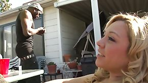 HD Bambi Diamond tube Bambi Diamond gets her back porchruthlessly shagged