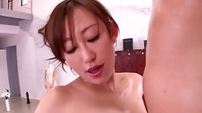 Free Cum in Her Eyes HD porn Arisa Sawa has fire in her eyes as