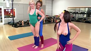 Yoga, Aerobics, Banging, Bend Over, Blowjob, Classroom
