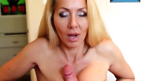 Mature, Big Tits, Blonde, Boobs, Granny Big Tits, Handjob