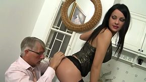 Father's Friend, Aged, Banging, Bend Over, Blowjob, Coed