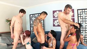 Ember James, 3some, 4some, Aged, Blowjob, Dad