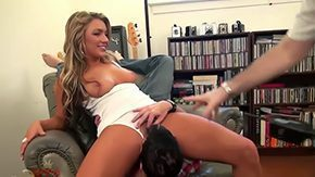 Cameron Dee, Babe, Ball Licking, Banging, Blonde, Blowjob
